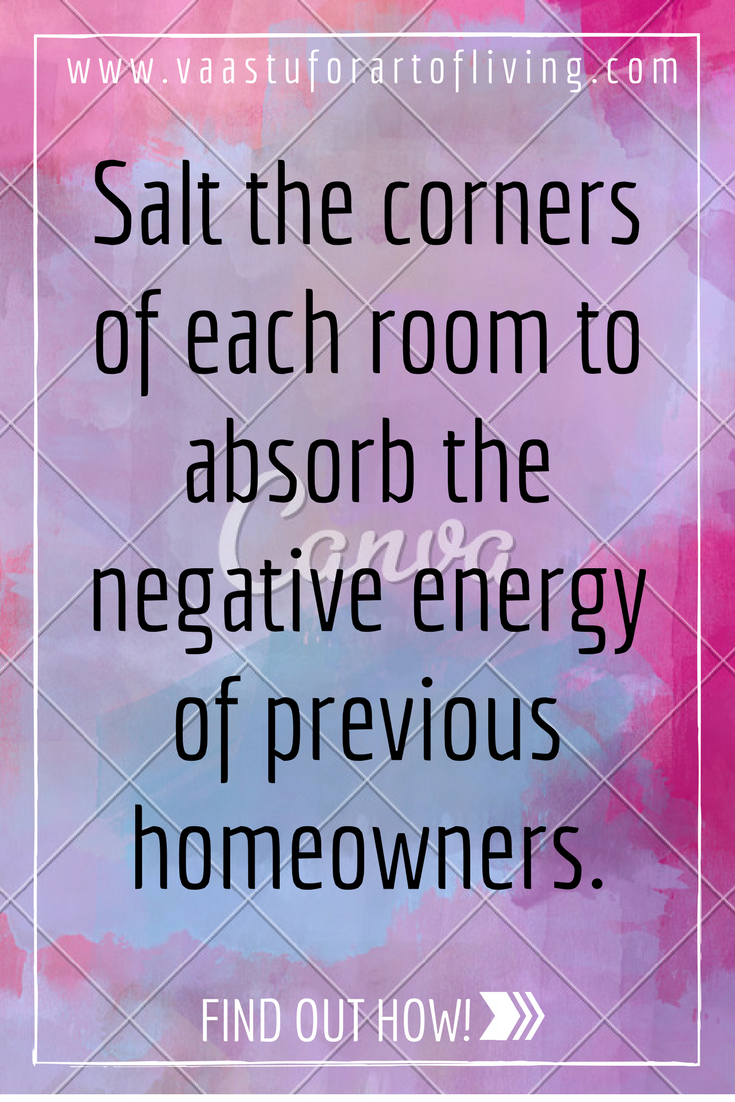 Powerful salt remedy for clearing the negative energy of Negative energy in house